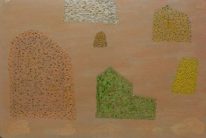 Domus Omnia 41 mixed media on cardboard 78x118 cm