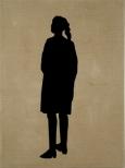 Berliner Blau IX, 200 x 150 cm, eggtempera on canvas, 2009