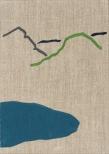 XIII, eggtempera on canvas, 35x25cm, 2008