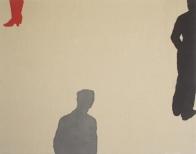 Plaza VI, 200x250cm, eggtempera on canvas, 2008